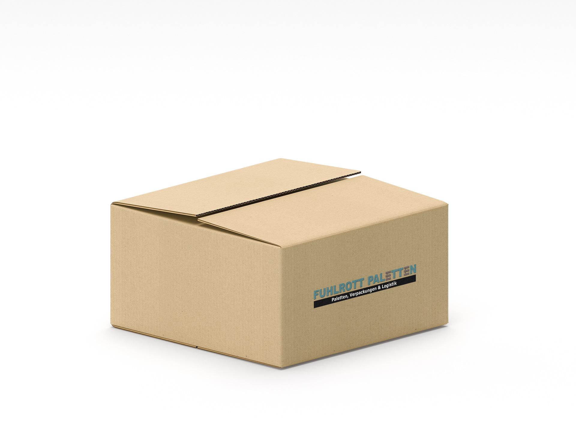 Karton Wellpappverpackung